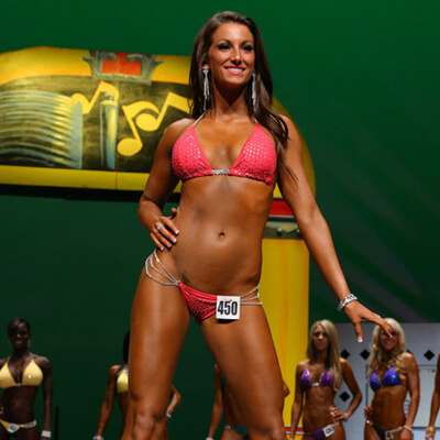 Bikini competition prep in Arizona 2